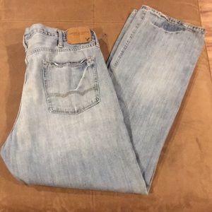 Men's American Eagle Jeans 38 38x34 Bootcut
